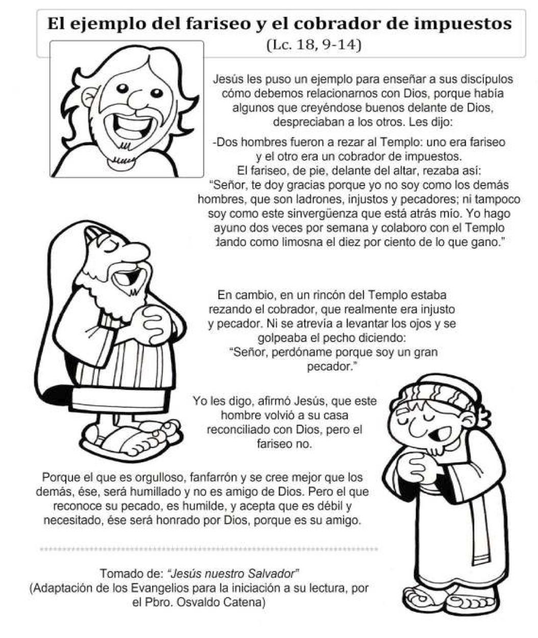 Para La Catequesis Domingo Xxx De Tiempo Ordinario